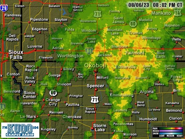 Explore Okoboji Weather | Northwest Iowa Weather | Local Radar